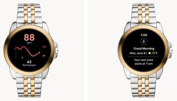 Fossil Gen 5E Herren Smartwatch Edelstahl Bicolor für 135€ (statt 159€)