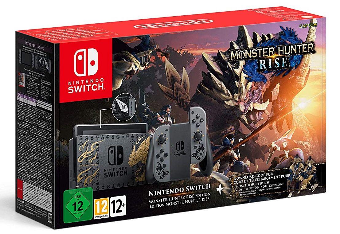 Nintendo Switch Monster Hunter Rise Edition für 354,38€ (statt 396€)