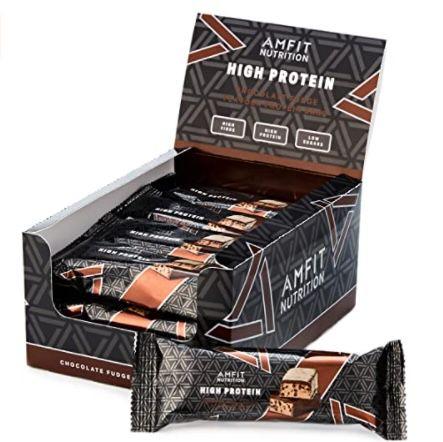 Amazon exklusive Produkte für den täglichen Bedarf   z.B. 12x Proteinriegel mit niedrigem Zuckergehalt ab 12,61€
