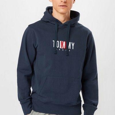 Tommy Jeans Sweatshirt Timeless in Navy für 56,94€ (statt 83€)   S, M und L