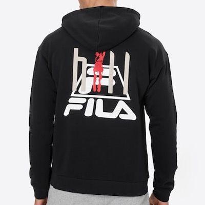 FILA Sweatshirt FYODOR in Schwarz für nur 22,43€ (statt 53€)