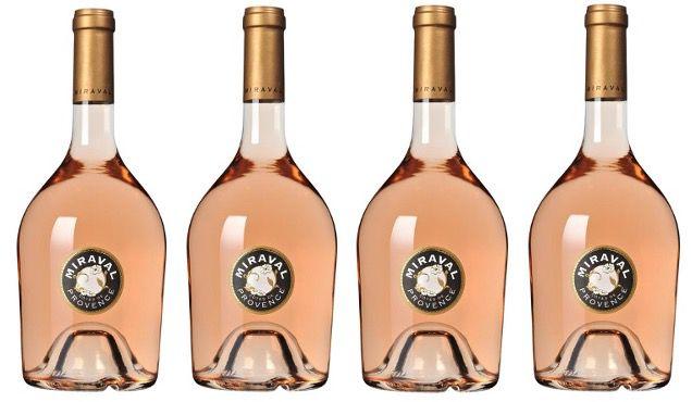 4x Miraval & Jolie Pitt Côtes de Provence Rosé AOC je 0,75 Liter für 54€ (statt 67€)