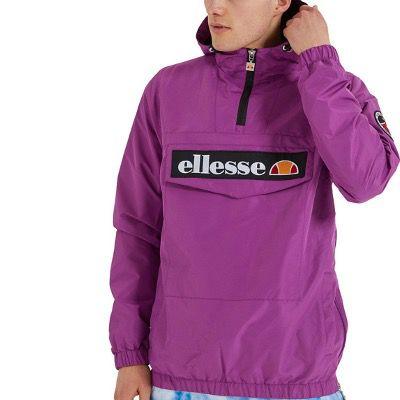 Traut sich wer? Ellesse Jacke Mont 2 OH in Dunkel Lila für 38,94€ (statt 72€)