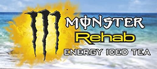 12er Pack Monster Energy Rehab Peach Energy Iced Tea mit Pfirsichgeschmack für 12,40€ inkl. 3€ Pfand
