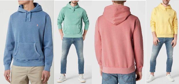 Polo Ralph Lauren Hoodie mit Label Stitching in verschiedenen Farben für 84,99€ (statt 149€)