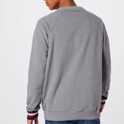 Tommy Hilfiger Lounge Track Sweatshirt in Grau für 23,90€ (statt 80€)   S bis L