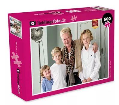 🔥 Foto Puzzle inkl. Schachtel mit bis zu 1.000 Teilen ab 15,73€ (statt 45€) zzgl. VSK