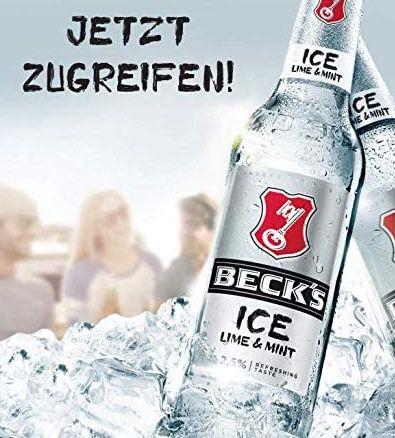 Kiste Becks Ice Lime & Mint Flaschenbier für 12,85€ + 3,42 € Pfand