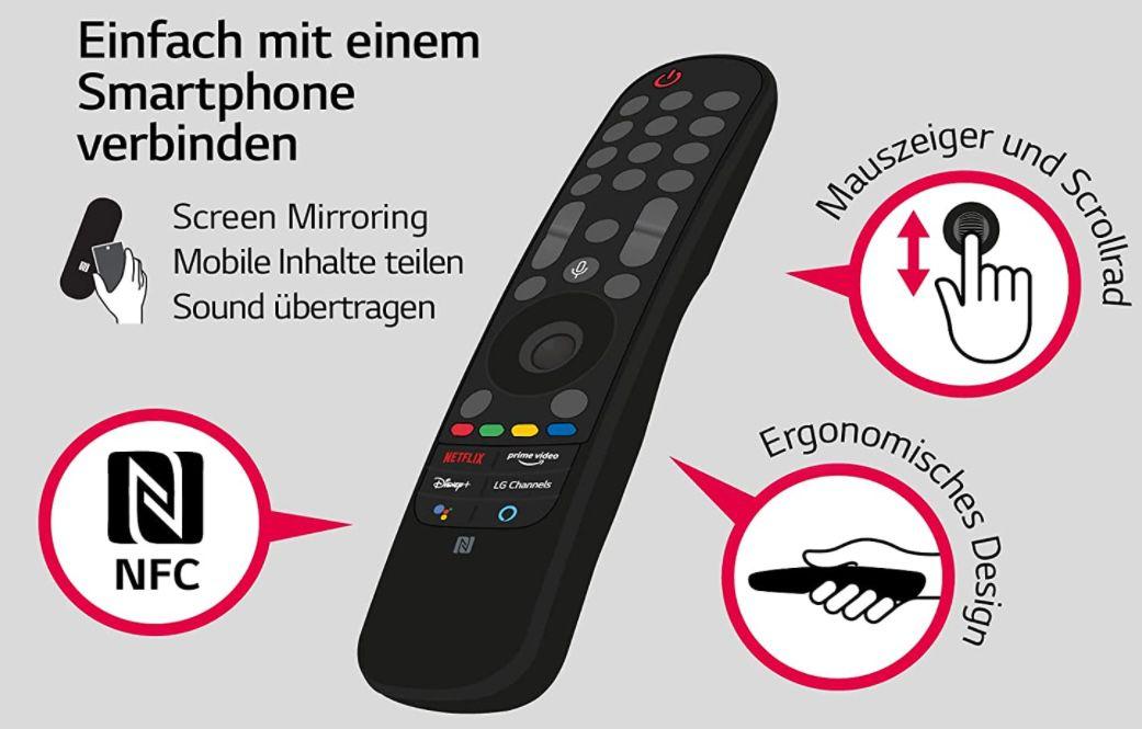 LG 65NANO809PA   65 Zoll UHD NanoCell Fernseher für 849€ (statt 1.004€)