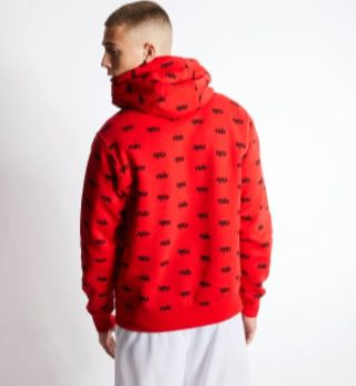 Nike Club Over The Head Hoodie in Rot für 29,99€ (statt 48€)