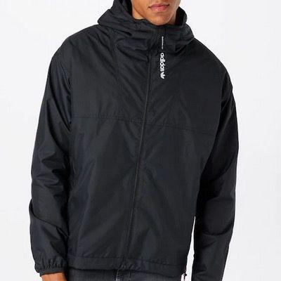 adidas Originals Herren Jacke in Schwarz Grau für 42,90€ (statt 90€)