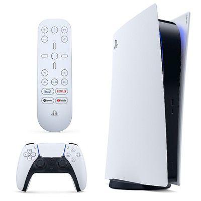 Sony PlayStation 5   Digital Edition Konsole inkl. Medienfernbedienung für 434,89€