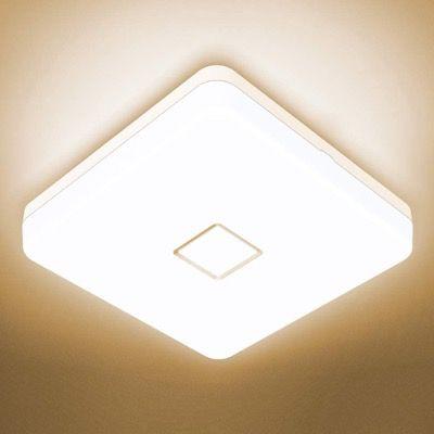 Onforu 24W LED Deckenleuchte IP54 wasserdicht mit 2100lm 2700K in Warmweiß für 16,49€ (statt 30€)