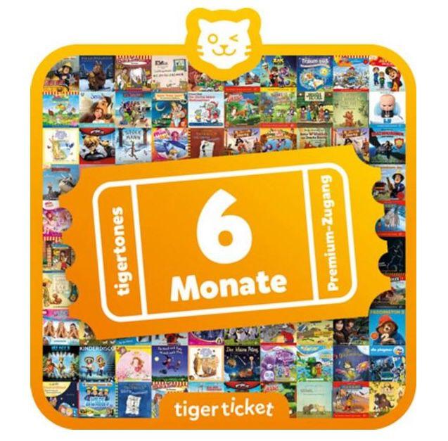 Tiger Media Tigerticket 6 Monate für 26,39€ (statt 30€)