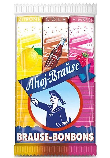 5x 3er Pack Ahoj Brause Brause Bonbon Stangen für 2,59€   Prime Sparabo