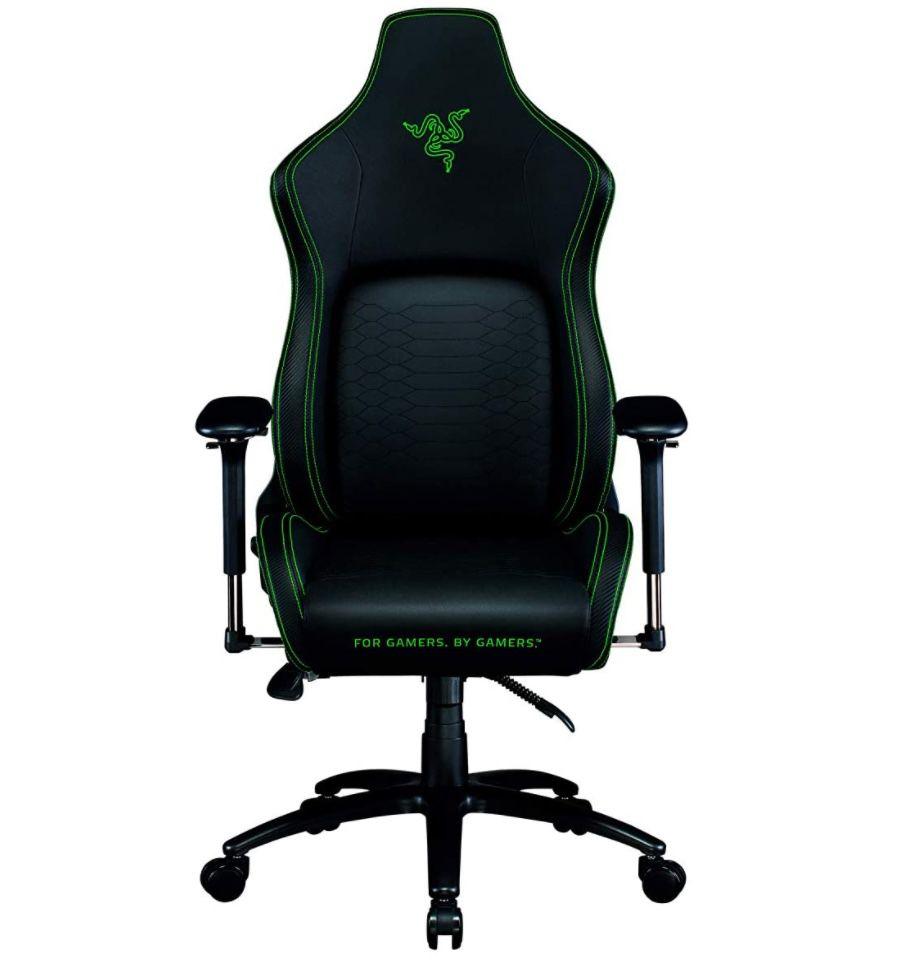 Razer Iskur Gaming-Stuhl mit integrierter Lendenwirbelstütze für 241,18€ (statt 350€)