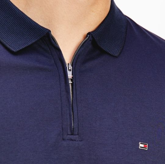 TOP! Tommy Hilfiger Interlock Poloshirt mit Reißverschluss für 47,94€ (statt 80€)