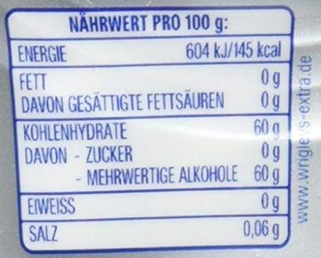 5x 50er Dose Wrigleys Extra Kaugummi Professional White zuckerfrei ab 7,96€   Prime