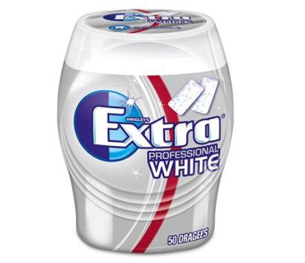 5x 50er Dose Wrigleys Extra Kaugummi Professional White zuckerfrei ab 8,44€ – Prime Sparabo