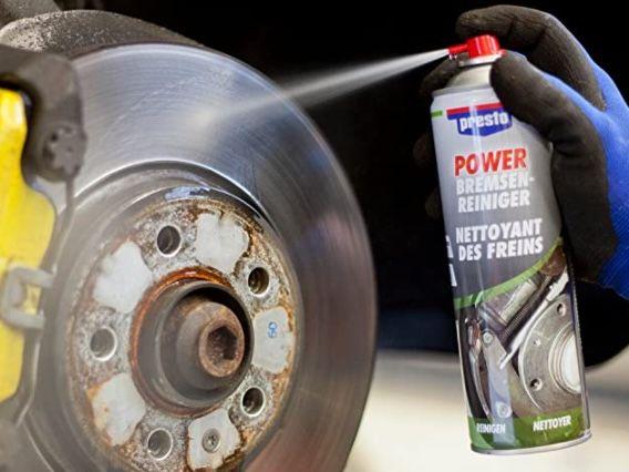 12x Presto Power Bremsenreiniger 600 ml für 19,98€ (statt 25€)