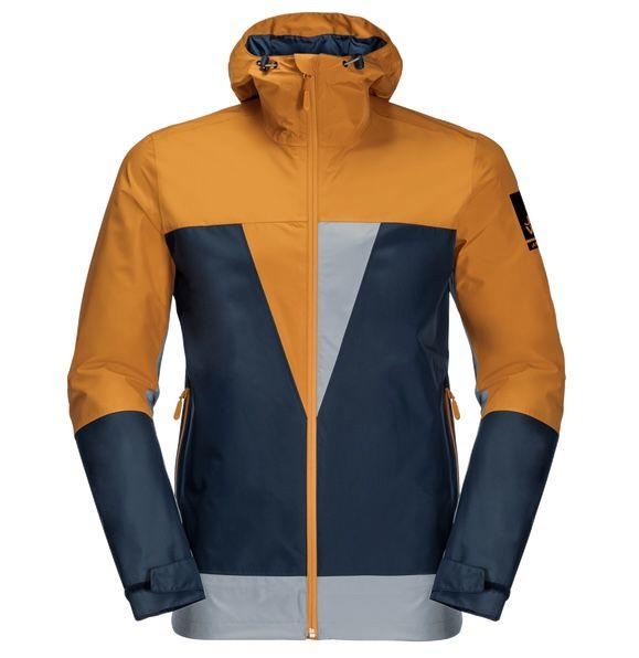 Jack Wolfskin 365 Thunderblaze Hardshell Jacke in Amber für 139,95€(statt 160€)