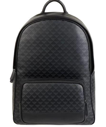 Emporio Armani Rucksack aus Leder mit Laptopfach für 329€ (statt 405€)