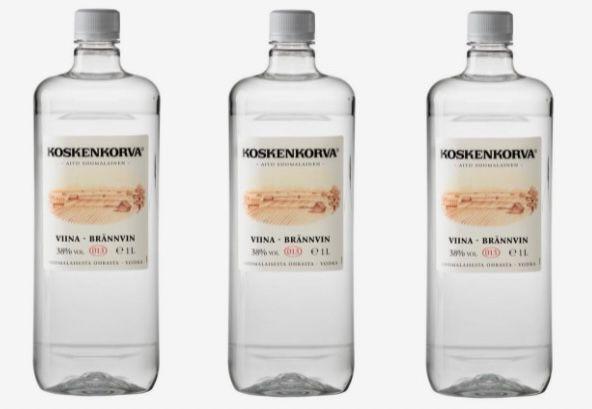 3x 1 Liter Koskenkorva Viina Vodka 38% für 26,70€ (statt 38€)