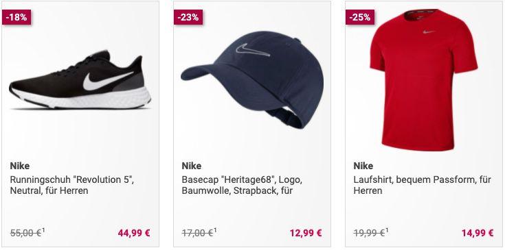 Galeria: 30% Rabatt ab 5 Artikel   z.B. 5x Nike Just Do It Swoosh T Shirt für 52,45€ (stat 70€)