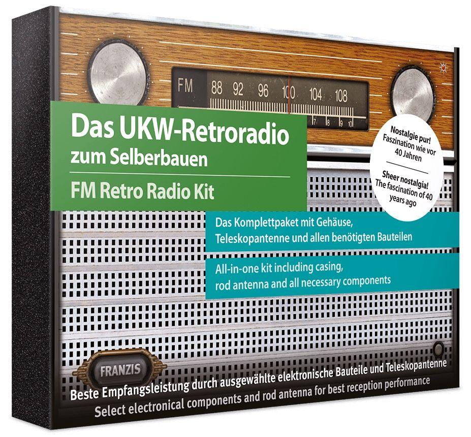 UKW Retroradio zum Selberbauen für 12€ (statt 25€)