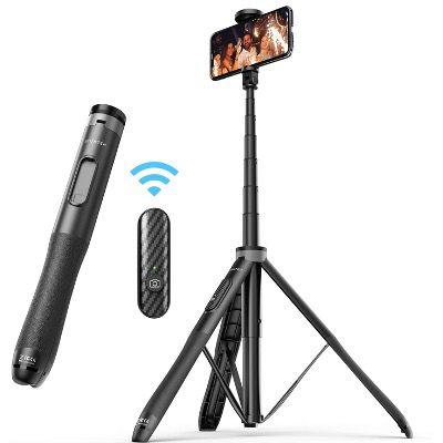ATUMTEK Selfie Stick mit Bluetooth aus Aluminium und rutschfestem Dreibein für 27,99€ (statt 35€)