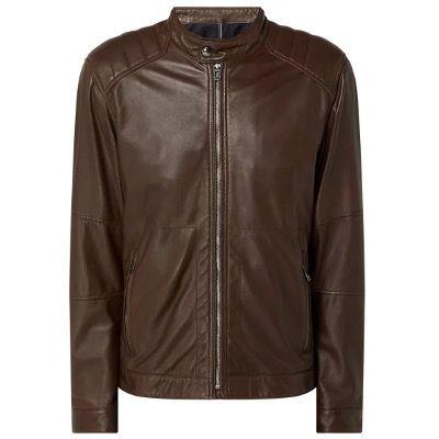 🔥 JOOP! Collection Lederjacke im Biker Look Modell Garth in Schwarz oder Braun für 203,99€ (statt 305€)