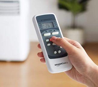 Amazon Basics tragbare Klimaanlage mit Luftentfeuchter 10.000 BTU/h für 238,27€ (statt 300€)