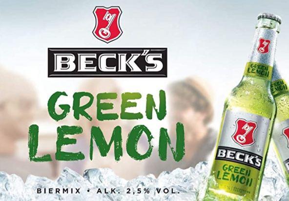 Kasten Becks Green Lemon Flaschenbier für 7,95€ zzgl. Pfand