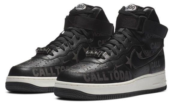 Nike Air Force 1 High in Schwarz Grau für 79,99€ (statt 113€)