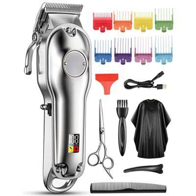 Chicclly Haarschneidemaschine schnurlos und wasserdicht 15teilig für 17,99€ (statt 40€)