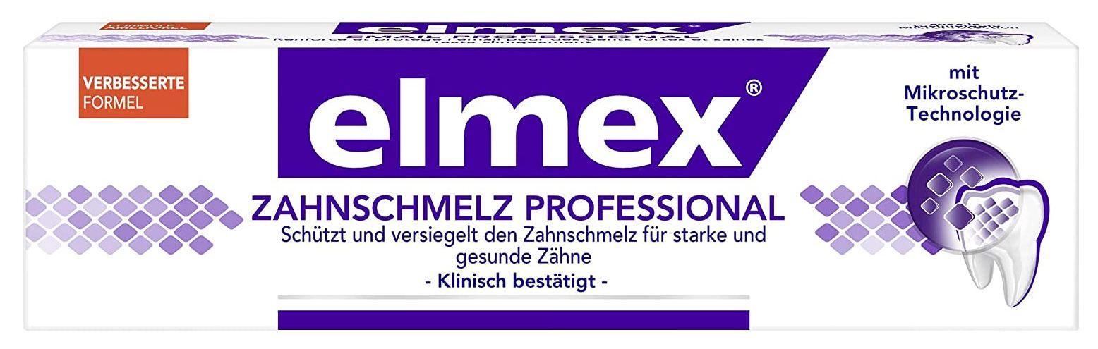5x elmex Zahnschmelzschutz Professional Zahnpasta für 14,81€ (statt 18€)   Prime Sparabo