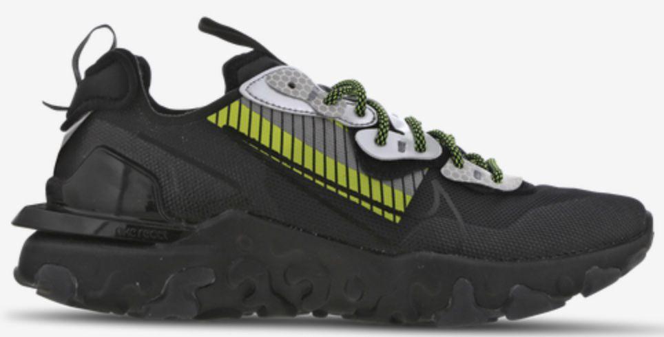 Nike React Vision X 3M Sneaker in Schwarz für 69,99€ (statt 100€)