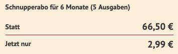 monopol mit 5 Ausgaben für direkt reduzierte 2,99€ (statt 67€)