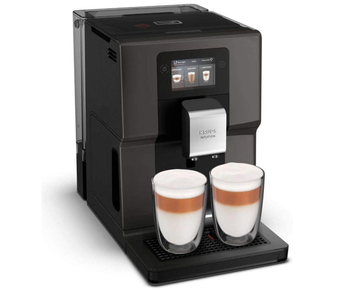 Krups Kaffeevollautomat EA872B mit 3,5 Farb Touchscreen für 519,25€ (statt 654€)