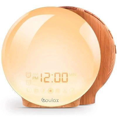 COULAX Wake Up Lichtwecker mit Snooze Light und Alarm Clock inkl. FM Radio für 11,50€ (statt 55€)
