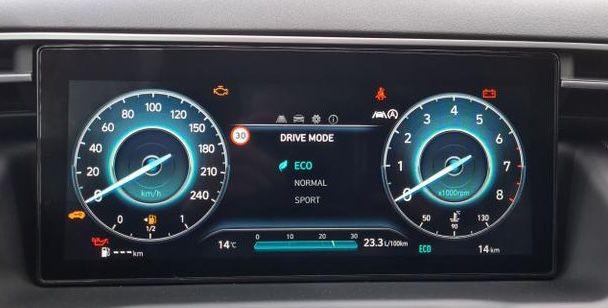 Hyundai Tucson Select 1.6 GDi Turbo mit 150 PS für 198€ mtl.   LF: 0.63