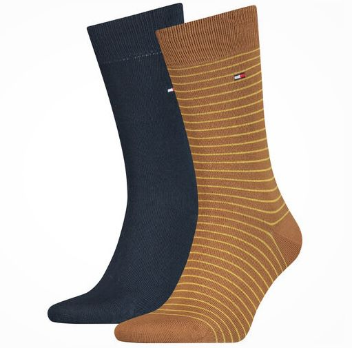 3x 2er Pack Tommy Hilfiger Small Stripe Socken für 26,92€ (statt 35€)
