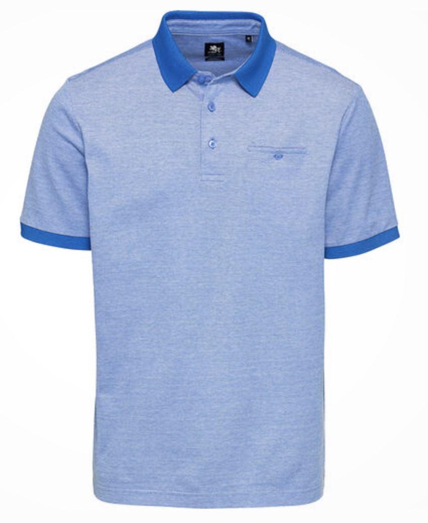 3er Pack Otto Kern Poloshirt mit Brusttasche in diversen Farben für 83,97€ (statt 150€)