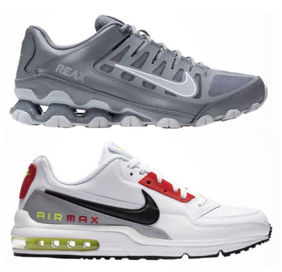 🔥 Nike Reax 8 TR + Nike Air Max Ltd 3 + Nike Revolution 5 Schuhe für zusammen 132,97€ (statt 205€)