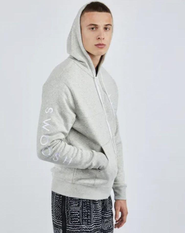 Nike Swoosh Fleece Full Zip Herren Hoodie für 35,99€ (statt 75€)