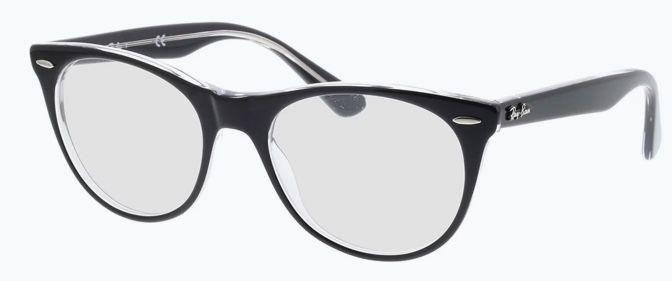 Ray Ban Wayfarer II RX2185V Einstärkenbrille für 62,89€ (statt 108€)