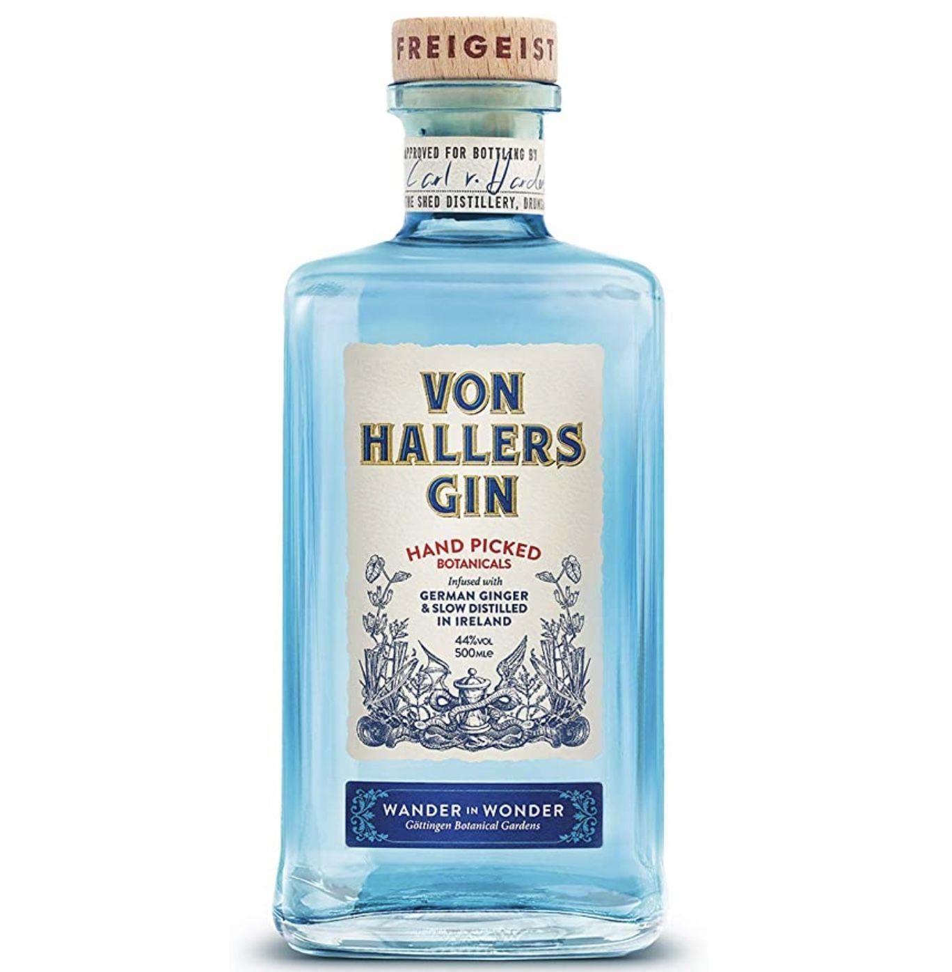 Von Hallers Gin 0,5L für 22,28€ (statt 27€)   Prime