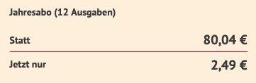 12 Ausgaben Capital Digital e Paper direkt nur 2,49€ (statt 80€)