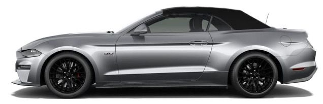 Ford Mustang 5.0 Ti VCT V8 GT Cabrio mit 449 PS und 10 Gang Automatik für 399€ mtl.   LF 0,77