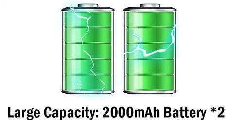 Ventilator mit 3 Geschwindigkeiten 2 in 1 mit LED Anzeige und 2000 mAh Akku für 10,99€ (statt 23€)